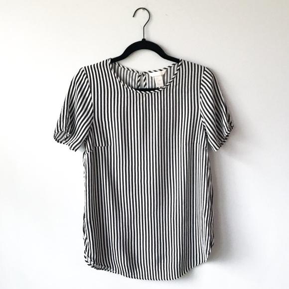 9ceee1a0560 H&M Striped Top